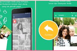 Cara Mengembalikan File Terhapus atau Hilang di Android dengan Dumpster