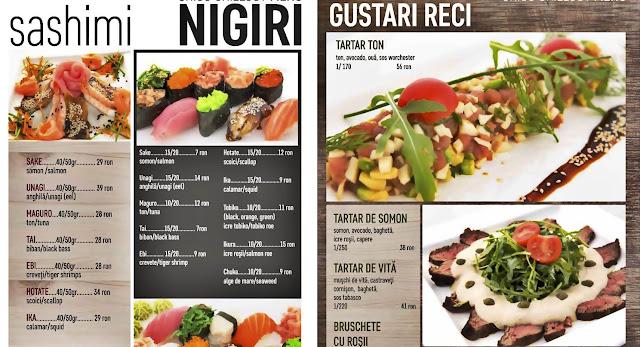 pareri restaurantul sushi time bucuresti meniu asiatic rafinat