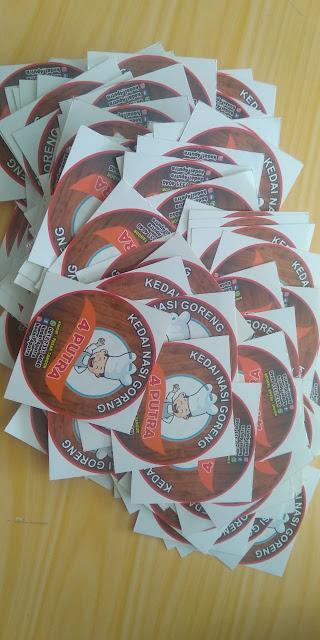 Stiker Label Nasi Goreng