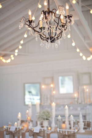 decoration mariage vintage lustre