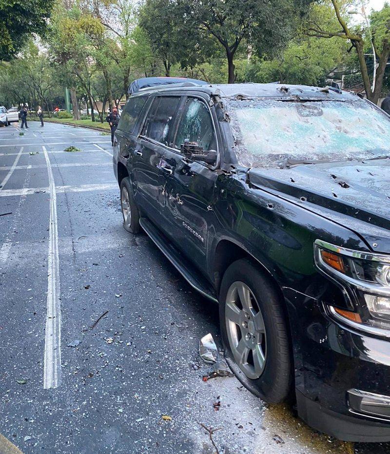 Atacan con fusiles antiaéreos al jefe de Seguridad de Ciudad de México