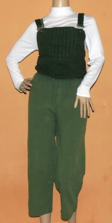 Overall Jeans Warna Gradasi