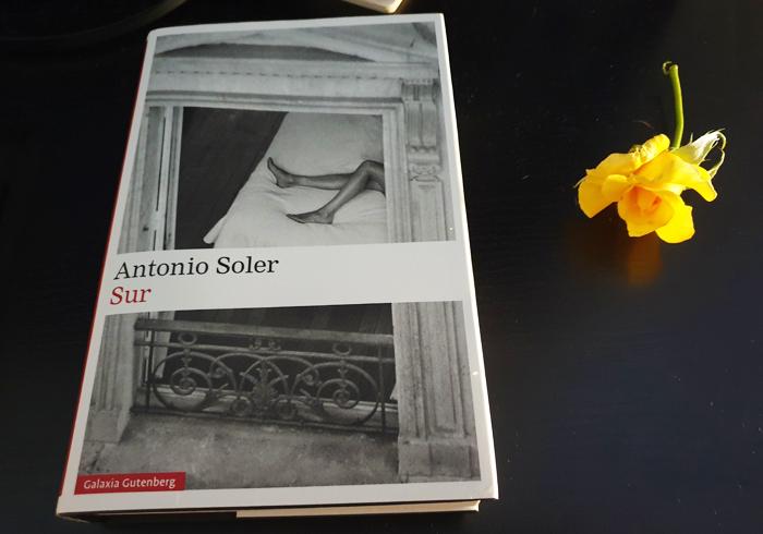 Sur, de Antonio Soler (Galaxia Gutenberg)