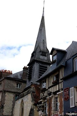 Vie del centro cittadino di Honfleur