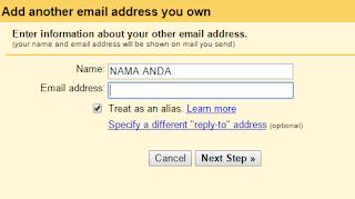 Gunakan Gmail Untuk Mengirim Email Dari Alamat Berbeda Atau Alias
