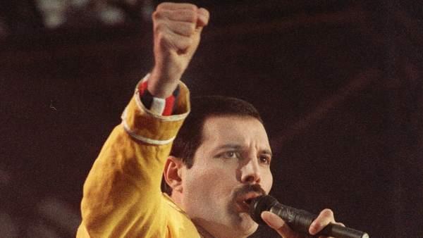 El líder de la mítica banda Queen, Freddie Mercury
