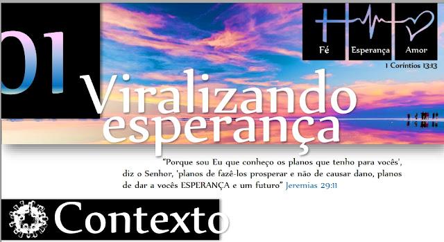 estudo biblico viralizando esperança