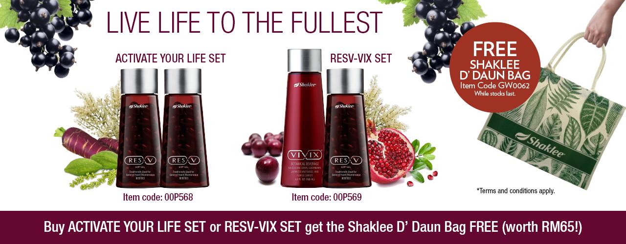 Promosi Vivix Shaklee