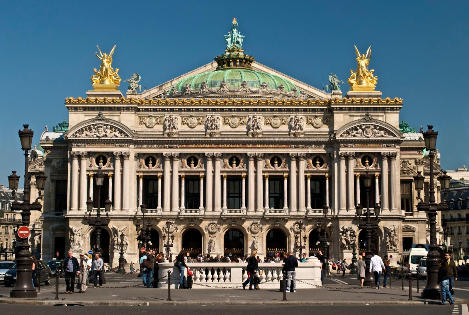visite guidee paris - visite guidee opera garnier - opera garnier - architecture parisienne