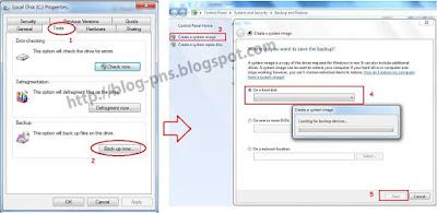 Tutorial Cara Back Up Windows 7 dan Membuat CD Restore