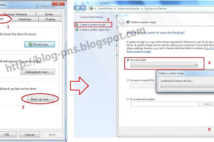 Tutorial Cara Back Up Windows 7 dan Membuat CD Restore
