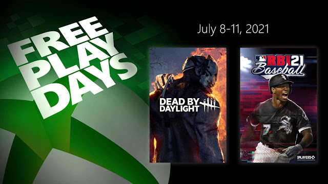 dead by daylight rbi baseball 21 behaviour interactive mlb advanced media xbox live gold free play days event