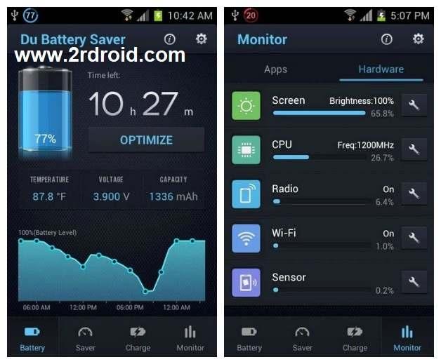 تحميل تطبيق DU Battery Saver