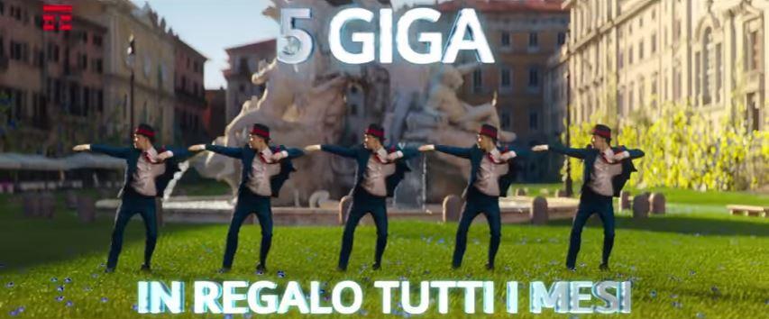Canzone Tim Pubblicità 5 giga in regalo, Spot Maggio 2018