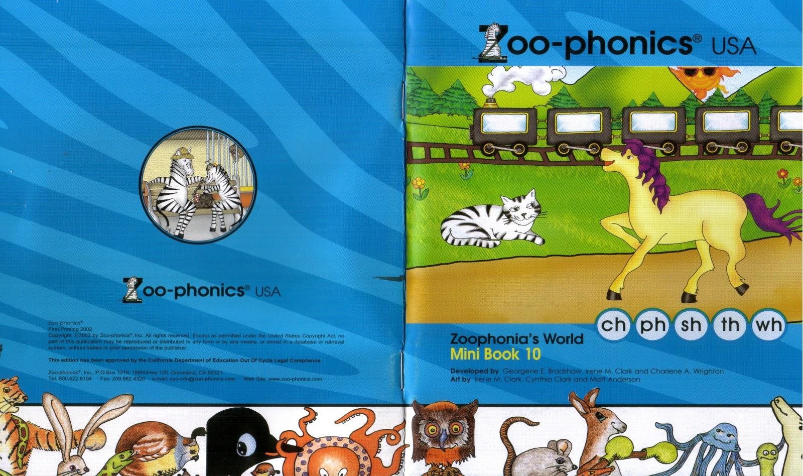 Free Download Ebook Zoo Phonics 10