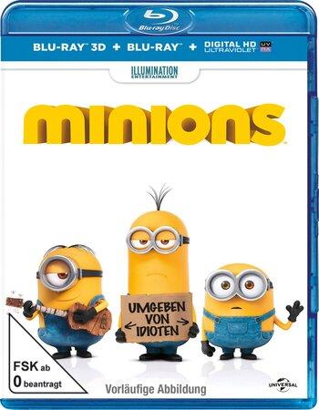 Minions (2015) Dual Audio Hindi 480p BluRay x264 300MB ESubs Movie Download