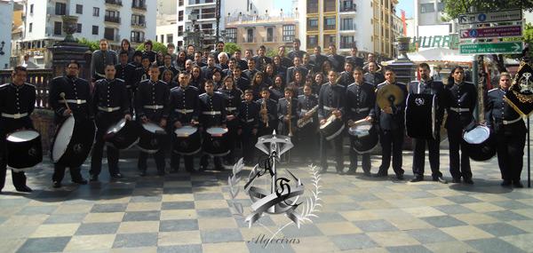 La Banda Sinfónica «AMANDO HERRERO» acompañará al Palio de los Dolores de La Linea en el 2022