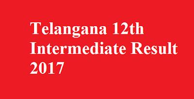 Telangana 12th Intermediate Result 2017