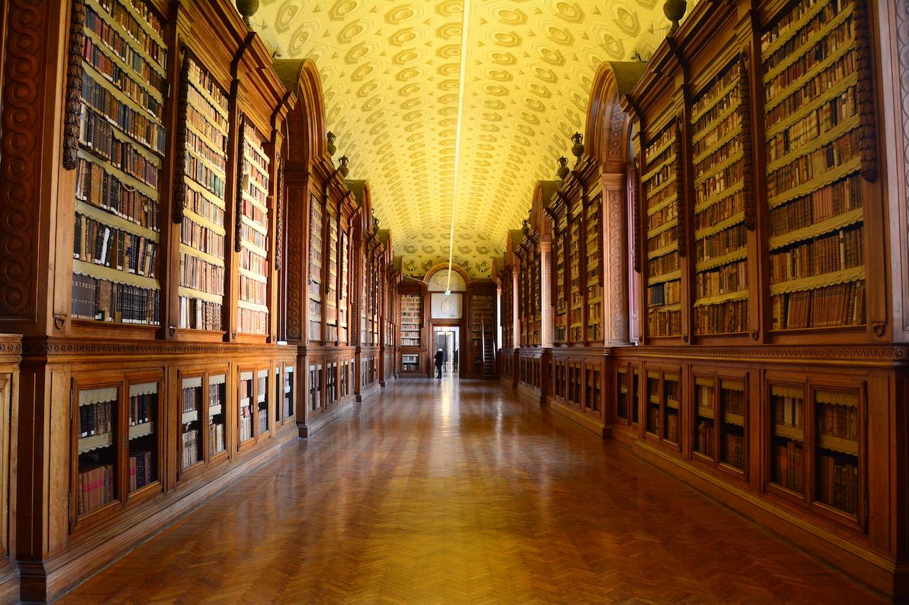 bibliothèque palatine Palazzo della pilotta