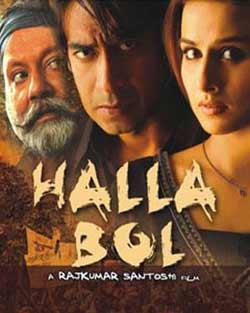 Halla Bol 2008 Hindi Movie Download HD 720p 1GB at movies500.org