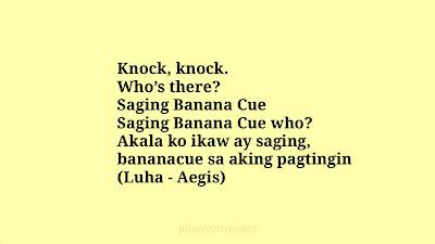Saging knock knock jokes ph