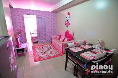 Hello Kitty Themed Condo Unit in Metro Manila