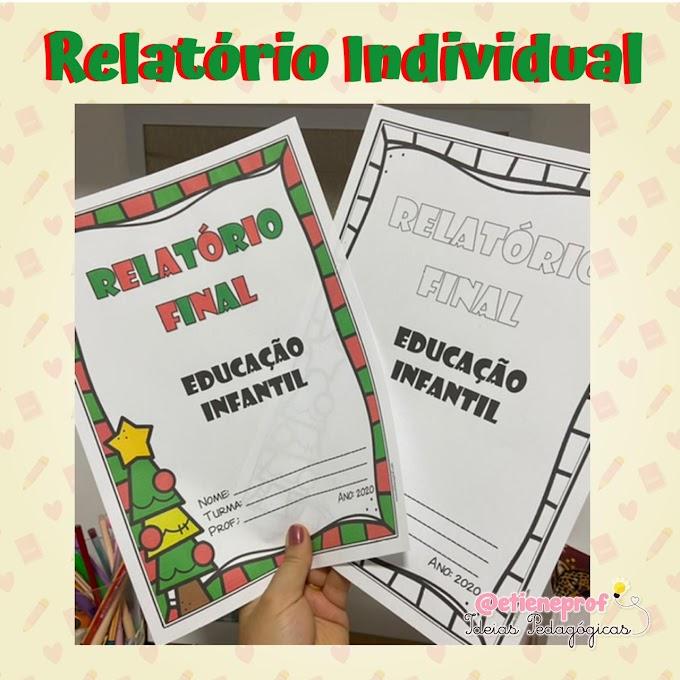 RELATÓRIO FINAL: EDUCAÇÃO INFANTIL