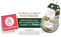 Logo ''Ponti, l'Aceto degli Italiani'': vinci 154 MY Cooking Box Ponti e ricevi come premio certo una coppia di sottopiatti