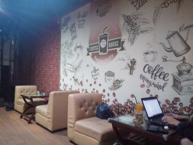 Rumah Kopi 72 Bandung- Singgah Sejenak di Café Manis Yang Multifungsi