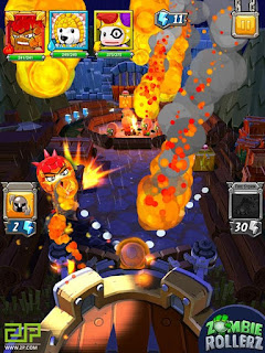 Zombie Rollerz: Game Mobile 'Pinball' Terbaru Bulan Oktober 2016