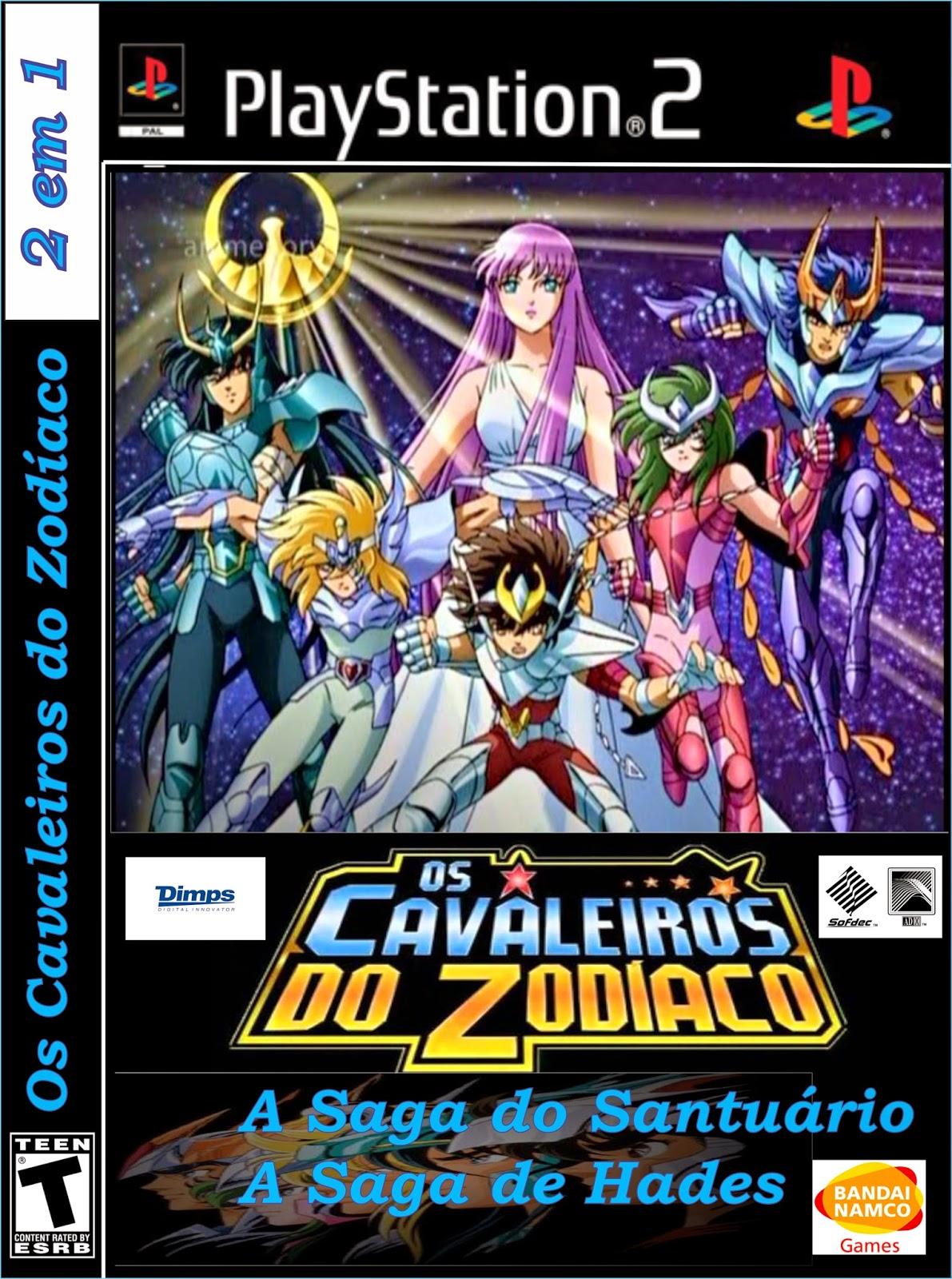 os cavaleiros do zodiaco a saga de hades ps2
