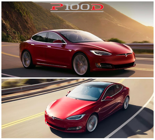 Tesla Model S P100D With Bulletproof