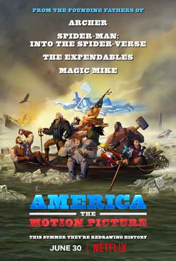 America: The Motion Picture 2021 480p 300MB BRRip Dual Audio