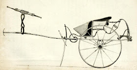 Changeable curricle or curricle gig  from A Treatise on carriages by W Felton (1796)