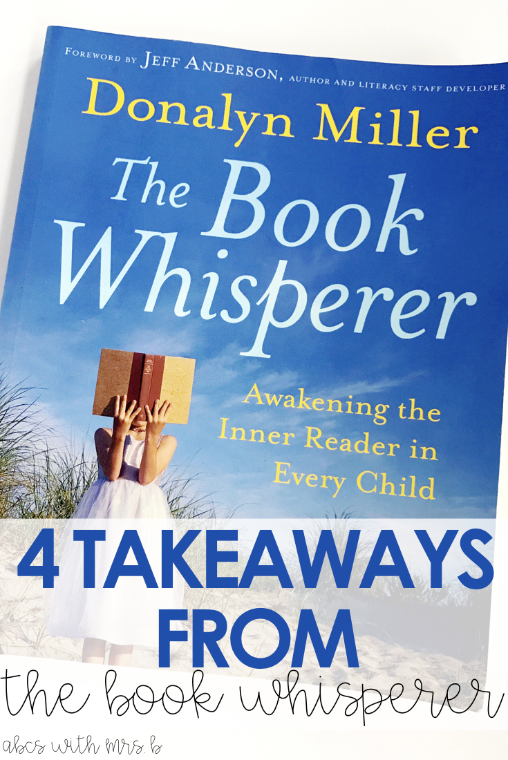 the book whisperer a must read abcs with mrs b rh abcswithmrsb com Generic Book Club Questions Generic Book Club Questions