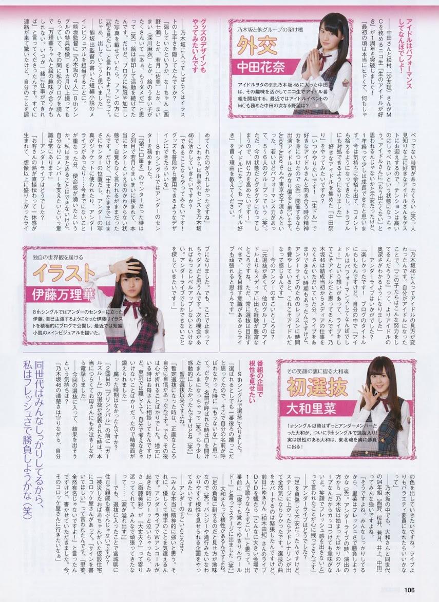 [ENTAME] 2014 No.07 Haruka Shimazaki, Sayuri Inoue, Kanon Kimoto, Yuria Kizaki, Sae Murase, NMB48Real Street Angels