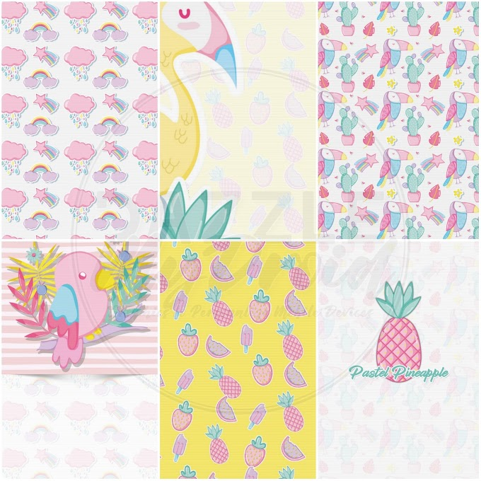 Tropical Punch Wallpaper Pack