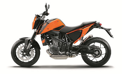 New KTM 690 side look photos