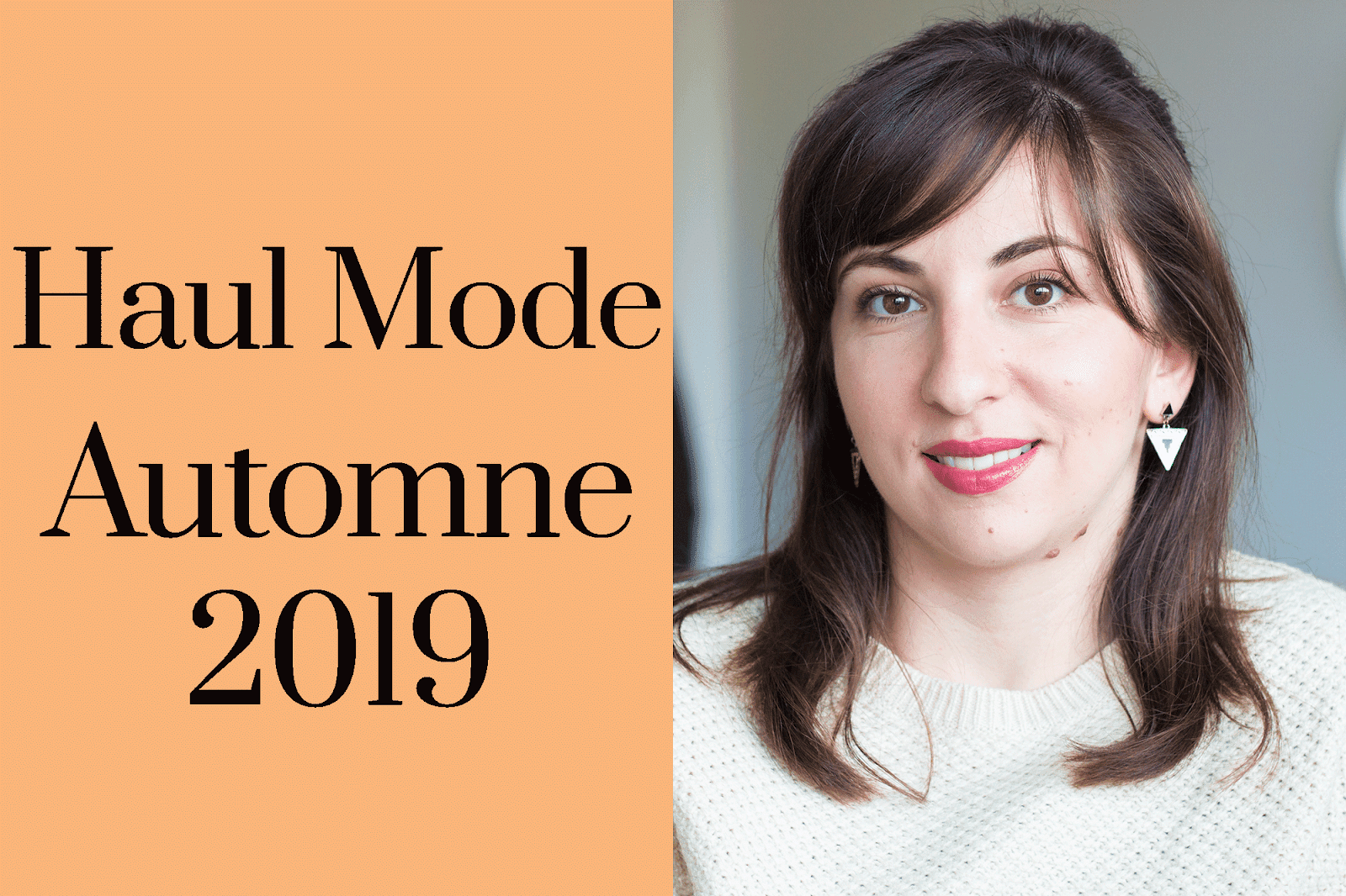 Haul Mode Automne Shopping Look