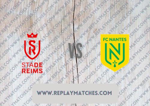 Reims vs Nantes Highlights 26 September 2021
