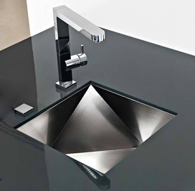 Unique stunning Black kitchen sink