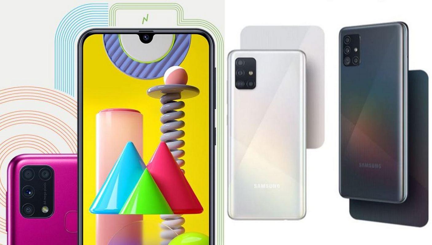 Perbandingan Samsung Galaxy M31 vs Galaxy A51, Harga Beda 400 Ribu Pilih Mana?