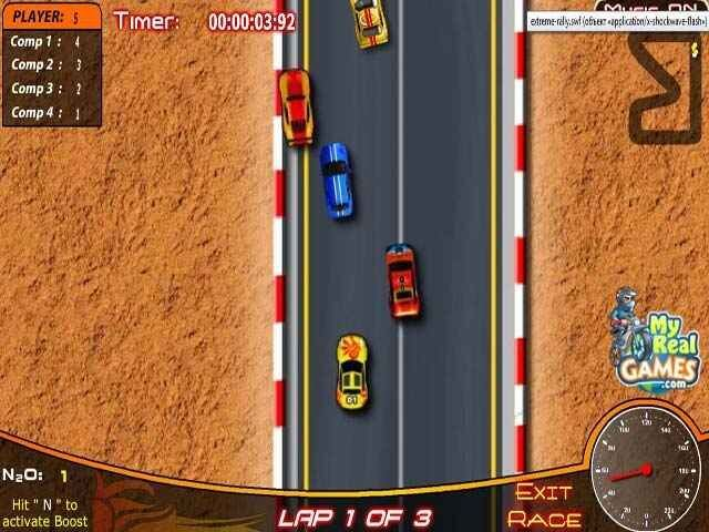 لعبة Extreme Rally
