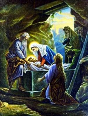 Viacrucis 14 - Jesus Es Sepultado Y Al Tercer Dia Resucita