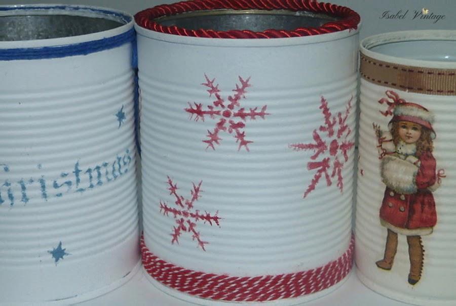 latas-navidad-decoupage-estarcido