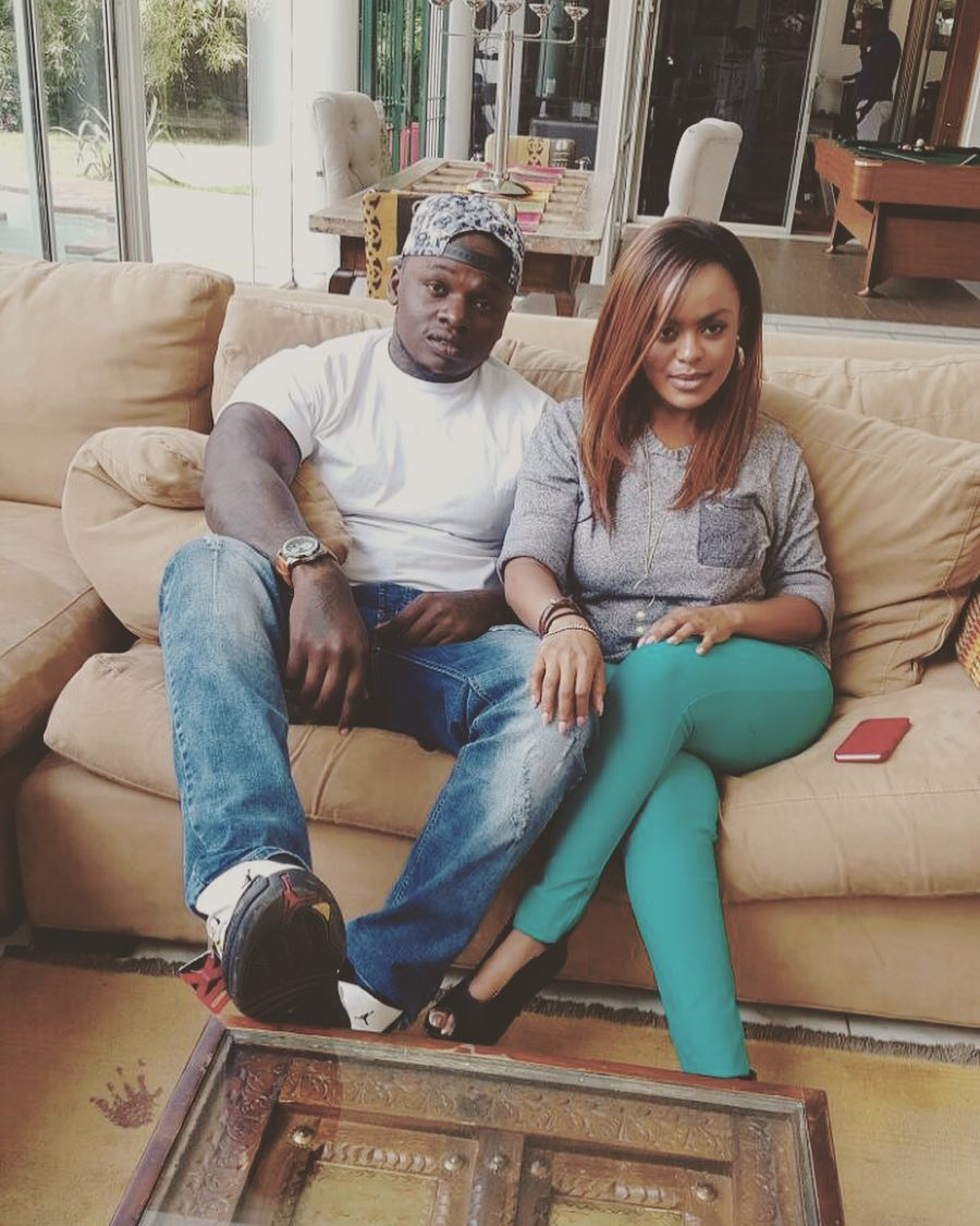 Avril Nyambura Mwangi Pregnant Khaligraph Jones