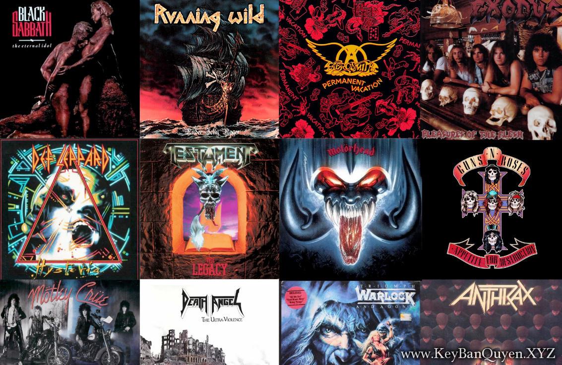 Tổng hợp Clip nhạc HD Hard Rock and Metal hay nhất mọi thời đại - Phần 3 - [MKV]