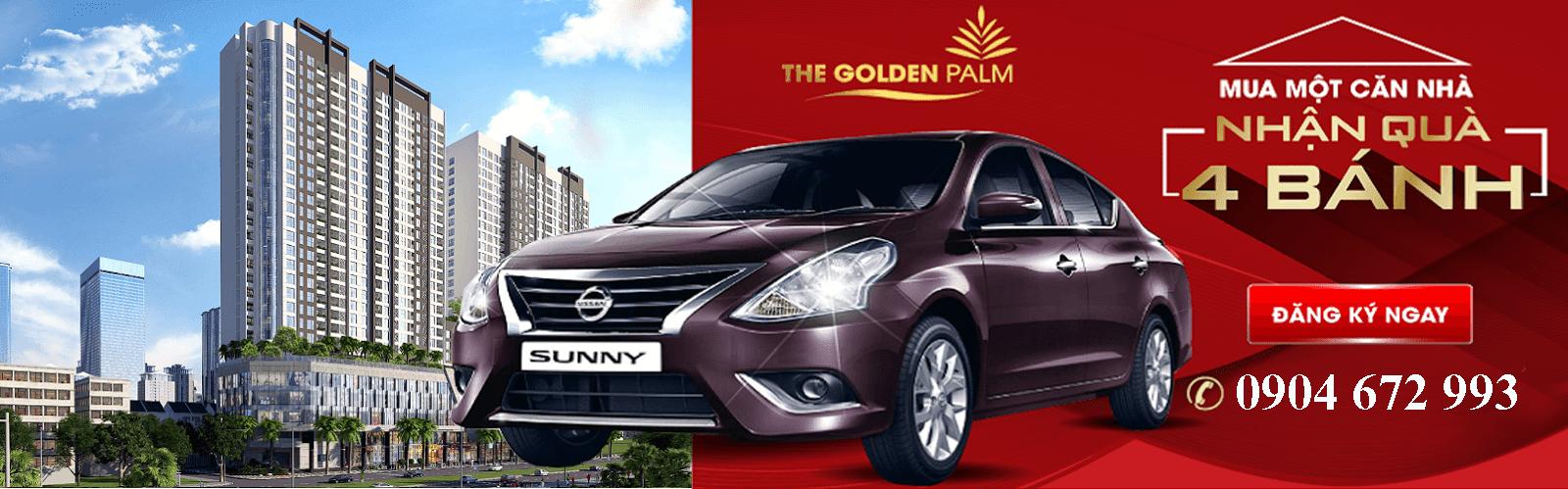 Mở bán dự án chung cư The Golden Palm