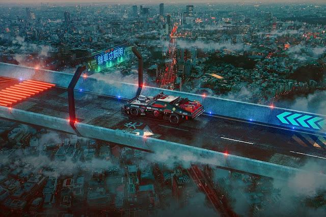 Mad Max x Akira by Khyzyl Saleem