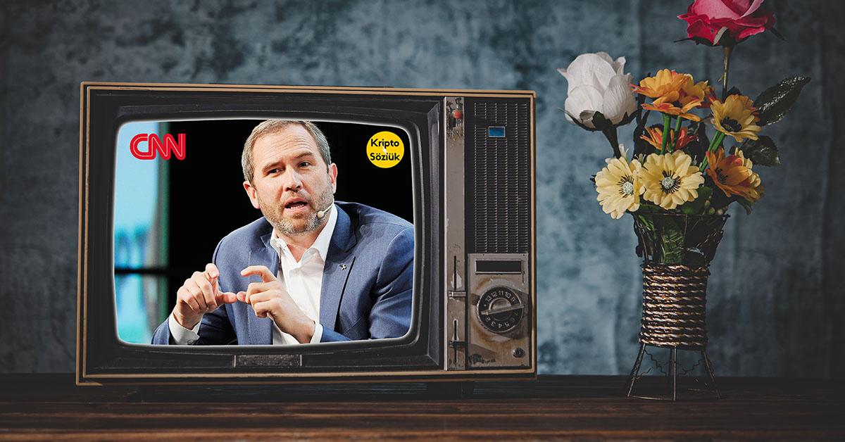 Ripple CEO'su Brad Garlinghouse'dan CNN Röportajı
